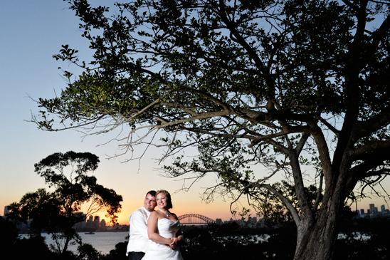 Sydney Harbour Wedding for Central Coast Couple - Bradleys Head Ampitheatre