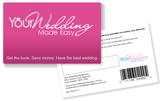 Wedding-Discount-Card