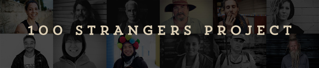 100 strangers home page file