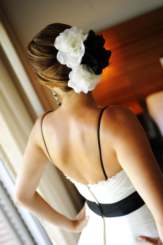 Magenta Shores wedding day - bridal hair