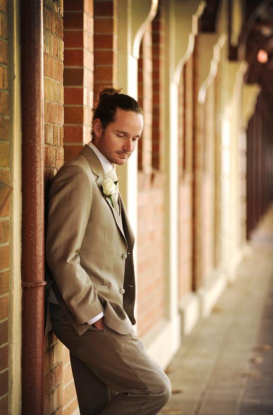 wedding suit beige - hire or buy