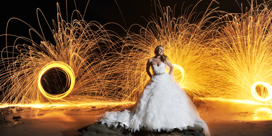Central Coast Wedding Light Painting_001