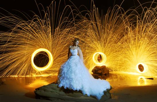 Central Coast Wedding Light Painting_002