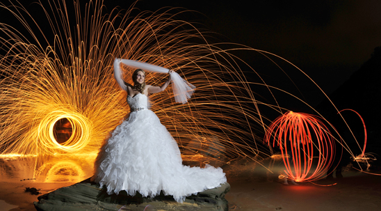 Central Coast Wedding Light Painting_003