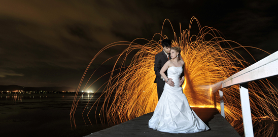 Central Coast Wedding Light Painting_005