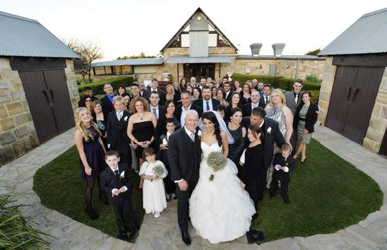Peterson House  Hunter Valley Wedding