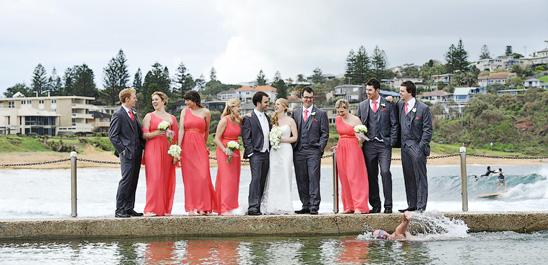 Mona Vale Beach Wedding Photography