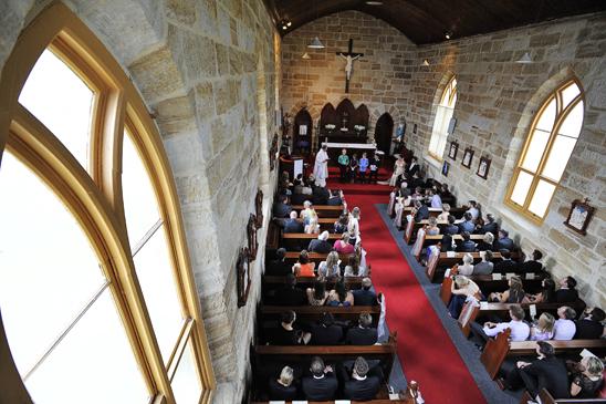 Holy Cross Church Kincumber Wedding_012