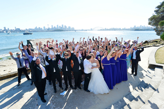 Sydney Harbour Wedding_018