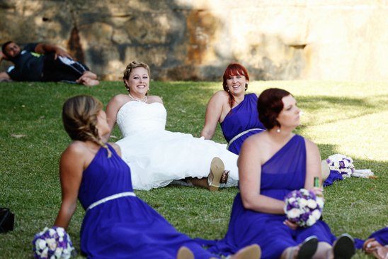 Sydney Harbour Wedding for Central Coast Couple - Bradleys Head Ampitheatre