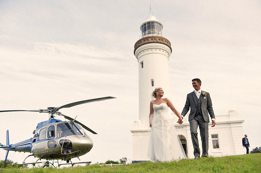 Helicopter Wedding Central Coast_034