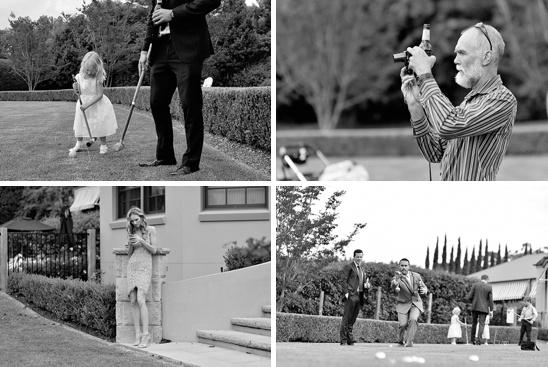 Bells Killcare garden wedding ceremony